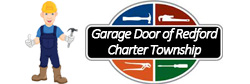 Garage Door of Redford Charter Township logo